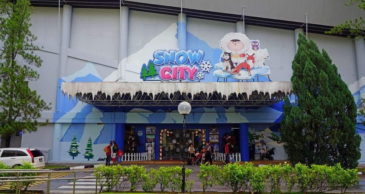 Pintu masuk Snow City Singapore