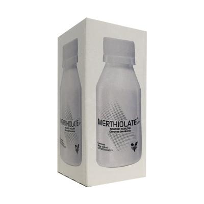 solucion merthiolate incoloro