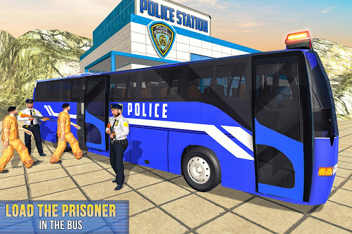 US Prisoner Police Bus: Bus Games 1.0 screenshots 2