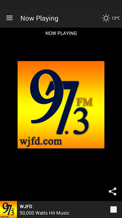 WJFD Radio- screenshot