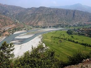 Photo: Sur la route entre Katmandou et Bhandar