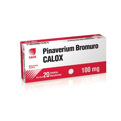 Pinaverium Bromuro Calox  100 Mg X 20 Tabletas Calox
