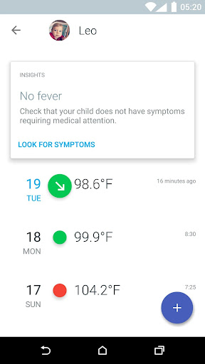 Thermo - Smart Fever Management 2.0.0 screenshots 1