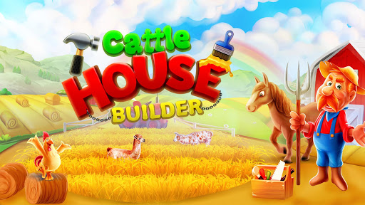 Cattle House Builder: Farm Home Decoration android2mod screenshots 1