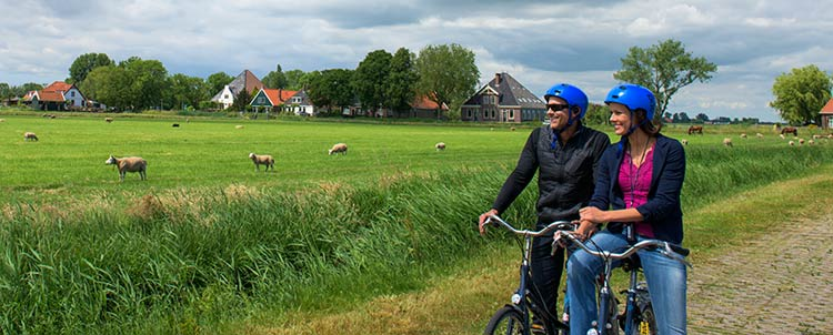 Take a bike excursion for a healthy way to see the sights along Europe's scenic waterways.