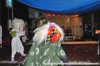 Photo: 【平成20年(2008) 宵宮】  雨雲を吹き飛ばす獅子の舞い。