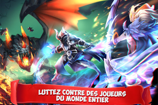 Epic Summoners: Bataille de Héros- RPG d'Action  captures d'écran 1