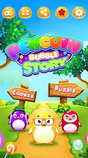 Penguin Bubble Story - náhled