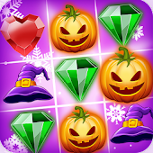 Witch Puzzle Match Gems