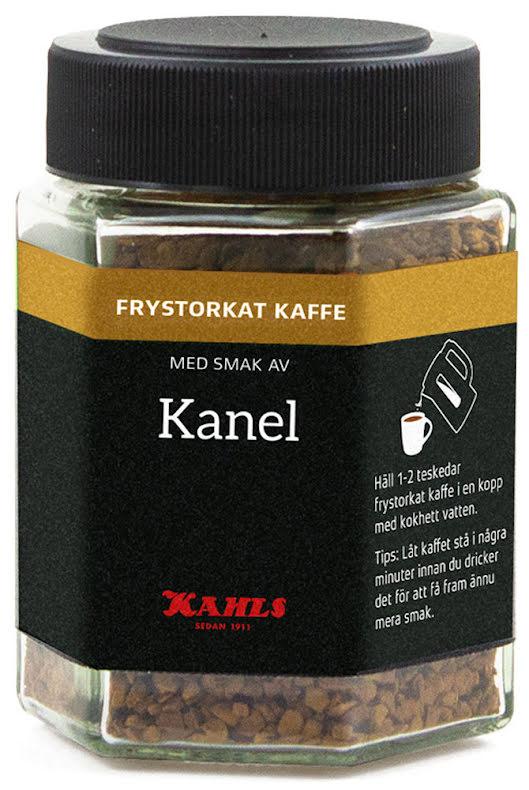 Frystorkat kaffe med kanel – Kahls