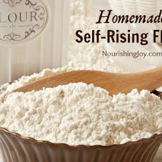 Homemade Self-Rising Flour.