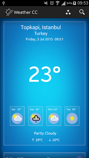 Weather CC