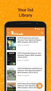 GATE Solved Papers & Solutions- screenshot thumbnail
