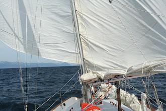 Photo: Wing and Wing sailing at the Southern Kenai Peninsula