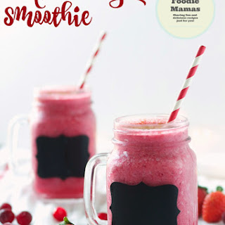 Winter Berry Smoothie #FoodieMamas