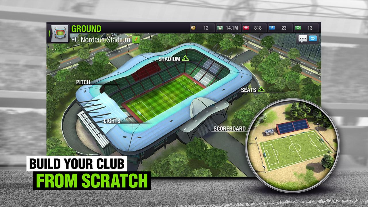 Screenshots of Top Eleven 2018 -  Be a Soccer Manager for iPhone