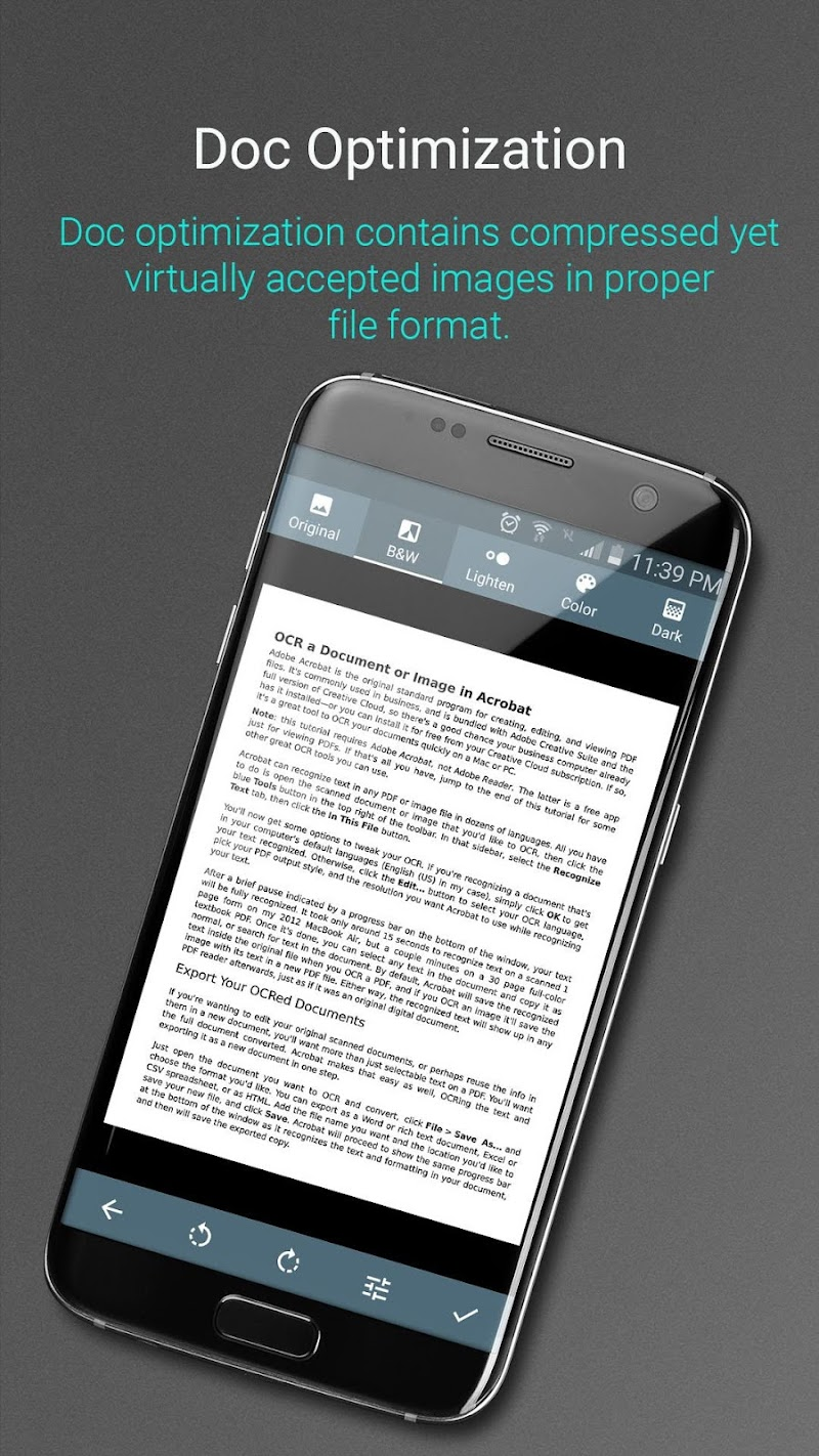 Document Scanner - PDF Creator Screenshot 2