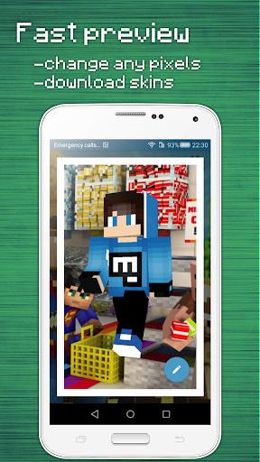 Skins Editor for Minecraft PE (3D) 2.9.2.2 screenshots 4