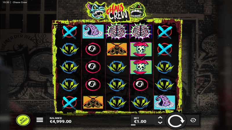 Chaos Crew Slot Game