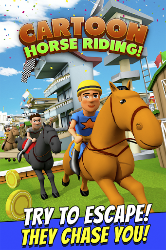 Cartoon Horse Riding Game Free
