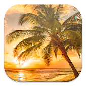Sunset Beach Live Wallpapers