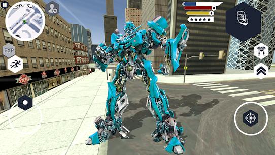 Robot Machin Car Transformer – Robot Car Games 4