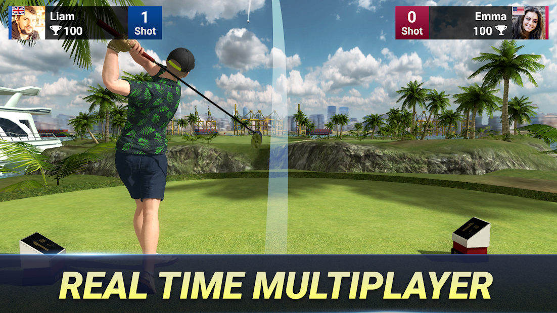 Golf King - World Tour Android App Screenshot