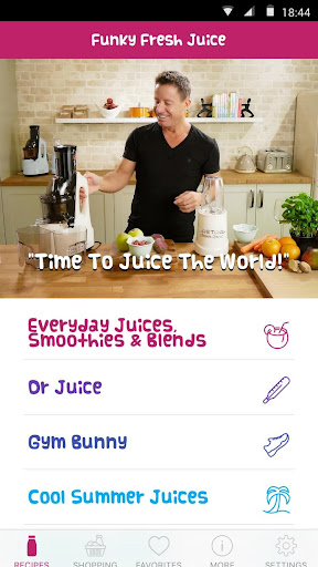 Screenshot for Jason's Funky Fresh Juice App in United States Play Store