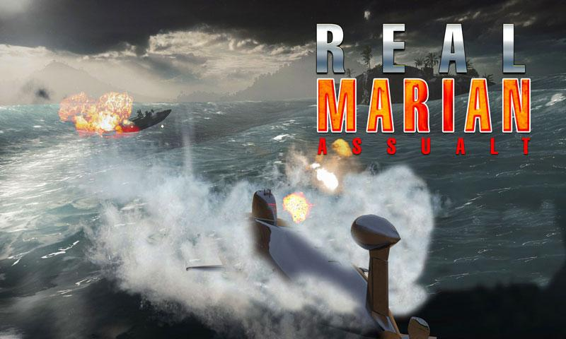 Russian Submarine: Navy War 3D- screenshot