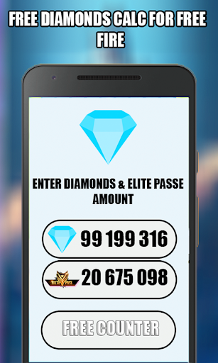 ud83dudc8eFree Diamonds and Elite Pass Counter for FF 2020 1.5 screenshots 3