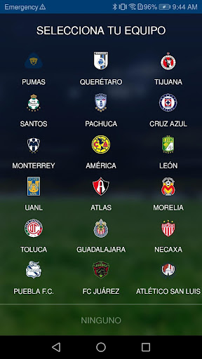 liga bbva mx app oficial screenshot 2