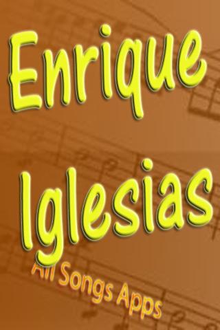 All Songs of Enrique Iglesias