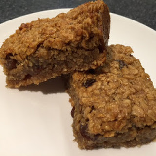 Banana Raisin Flapjacks