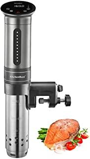 Sous Vide Immersion Circulator, KitchenBoss 1100 Watt IPX7 Waterproof Sous Vide Cooker With Accurate Temperature Control D...