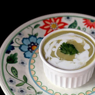 Simple Cream of Asparagus Soup