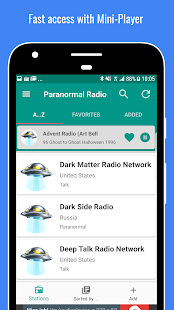Radio Paranormal Talk PRO+- screenshot thumbnail
