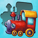 Choo - match shape puzzle game for toddler icon