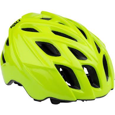Kali Protectives Chakra Mono Helmet: Fluorescent Yellow