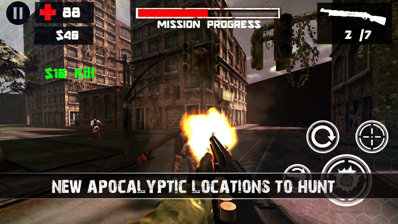 Zombie Shooter 3D- screenshot
