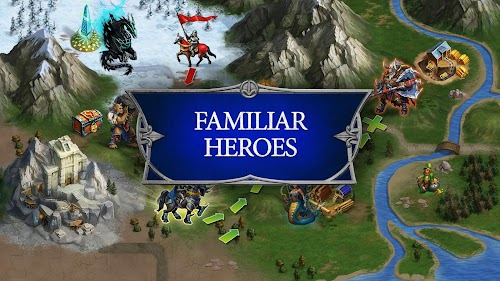 Screenshot 1 Gods and Glory: War for the Throne 3.7.1.0 APK MOD