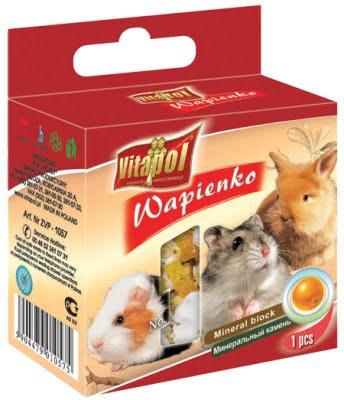 VitaPol Mineralsten Gnagare Apelsin 40g