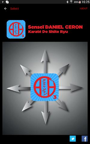 android KARATE SHITO-RYU 3 Screenshot 8