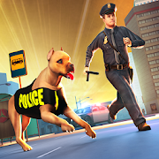 City Police Dog Chase Crime Simulator