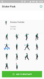 Emotes Fortnite Stickers 2
