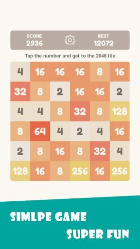 Tap 2048 - worldwide poplar game apkdebit screenshots 5