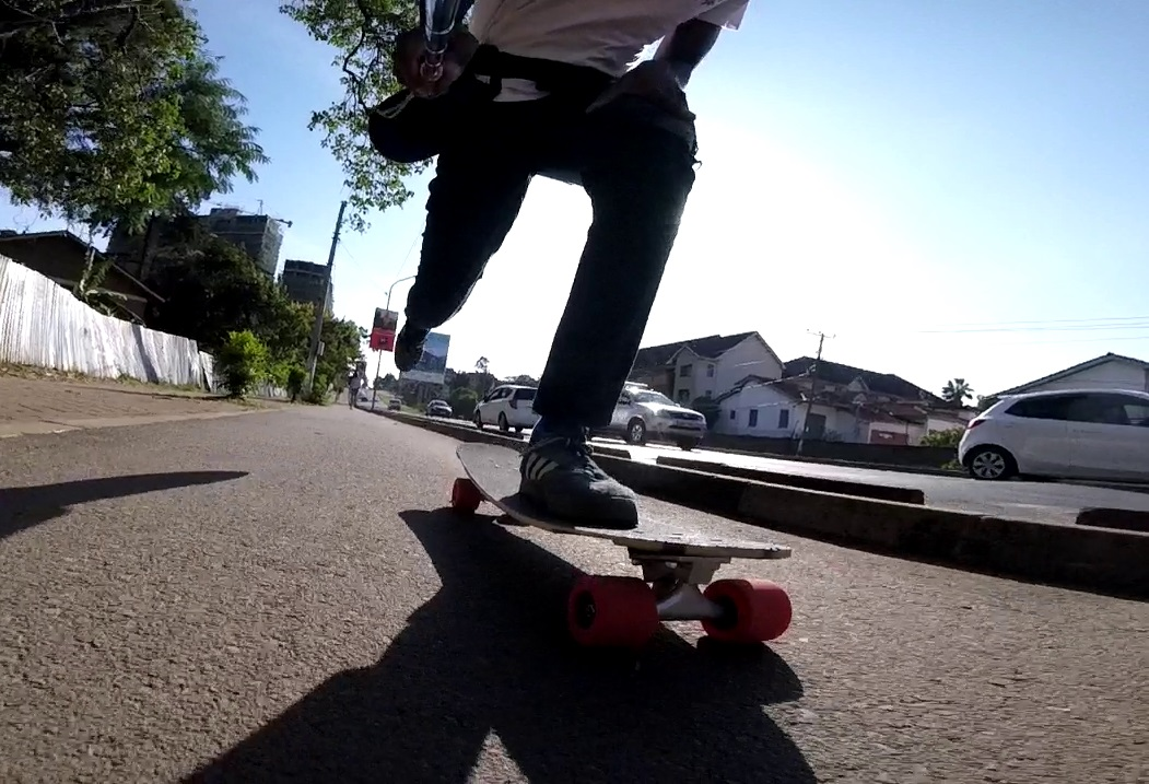 commuting on the comet cruiser - best longboard for campus cruising