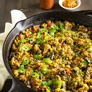 Mexican Rice with Chorizo and Black Beans – One-Pan.