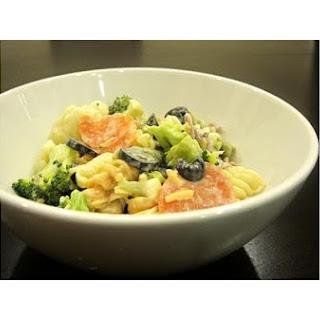 Vegan Zesty Pasta Salad.