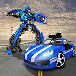 Car Robot Transform Game - Car Transforming Robot Icon