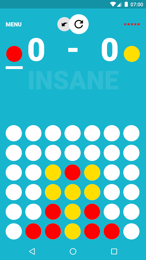 Multiplayer for Connect 4- screenshot